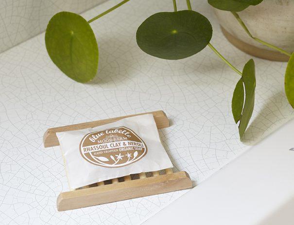 Blue Labelle soap